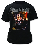 Cradle of Filth Dead Girls Don't Say No Print Men's Cotton Shirt