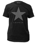 David Bowie - Blackstar fitted jersey tee