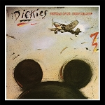 The Dickies - Stukas Over Disneyland  (140 Gram Army Green or 180 Gram Black Vinyl)
