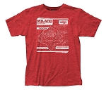 Guardians of the Galaxy Milano Blueprint fitted jersey tee