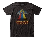 Guardians of the Galaxy Milano Flying fitted jersey tee