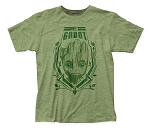Guardians of the Galaxy I Am Groot fitted jersey tee