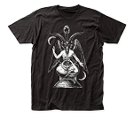 Impact Original Baphomet fitted jersey tee
