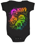 KISS baby KISS infant onesie