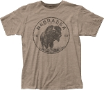 The Good Life Bison Seal Nebraska Tee (Unisex)