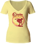 Omaha Surf Club Nebraska V-Neck (Women's)
