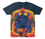 Guardians of the Galaxy Team big print subway tee