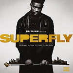 "Future, 21 Savage & Lil Wayne ""Superfly Original Motion Picture Soundtrack"" 2x Silver w/Black & Gold Smoke Colored Vinyl"
