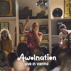 "Awolnation ""Live in Vienna"" 7'' Virgin Vinyl 2018 RSD2018"