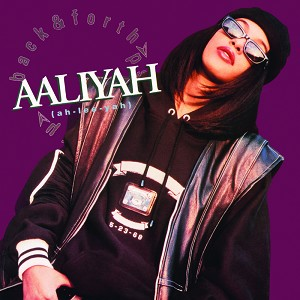 "Aaliyah ""Back and Forth"" 180g Opaque Purple Vinyl RSD 2018"