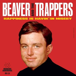 "Beaver and The Trappers ""Happiness Is Havin'"" /""In Misery"" 7'' Gold Vinyl RSD 2018"