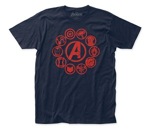 "Avengers: End Game ""End Game Icons"" - Fitted Jersey Tee"
