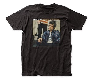 Bob Dylan Highway 61 Revisited fitted jersey tee