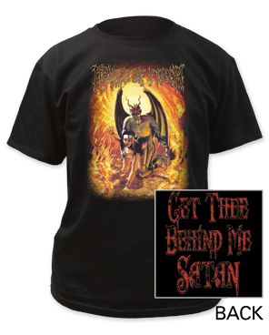 Cradle of Filth get thee behind me adult tee
