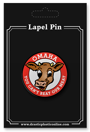 Can't Beat Our Meat! Lapel Enamel Pin