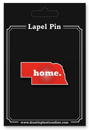 Home. State Lapel Enamel Pin