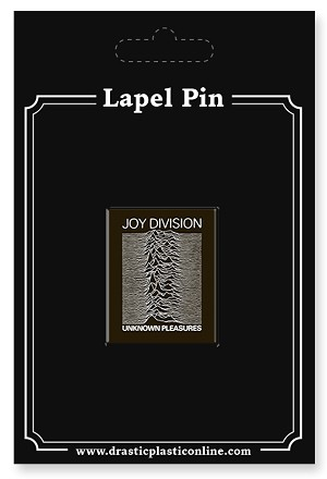"Joy Division ""Unknown Pleasures"" Lapel Enamel Pin"