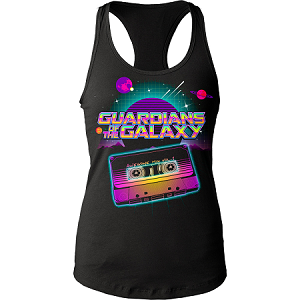 Guardians of the Galaxy Awesome Mix juniors tank