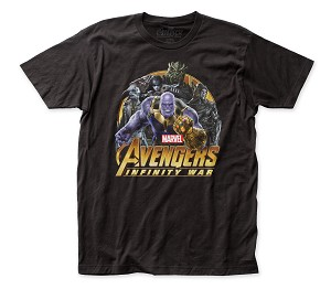 "Avengers ""Infinity War Villains"" - Fitted Cotton Tee"