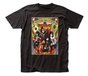 "KISS ""Japan Tour"" - Fitted Jersey Tee"