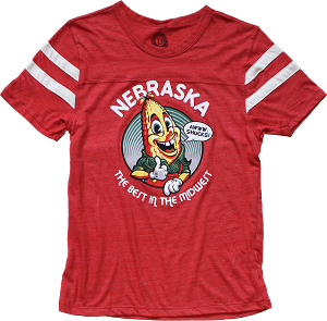 Awww, Shucks! Nebraska Best In The Midwest Tee (Unisex)