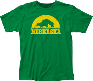 Sunset Cow Love Nebraska Tee (Unisex)