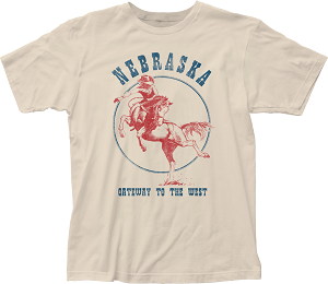 Gateway To The West Nebraska Rodeo Tee (Unisex)