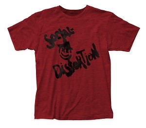 Social Distortion Mainliner Single fitted jersey tee