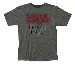 Social Distortion Prison Bound fitted jersey tee