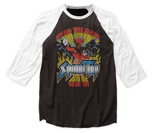 "Spinal Tap ""Smell the Glove Tour"" - Baseball Jersey Tee"