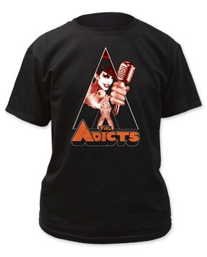 "The Adicts ""Clockwork Monkey"" Tee"