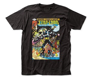 Guardians of the Galaxy Star-Lord Cover fitted jersey tee