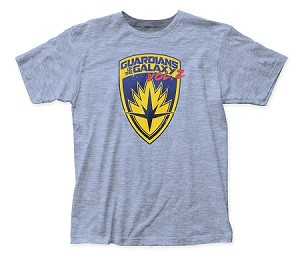 Guardians of the Galaxy Shield fitted jersey tee