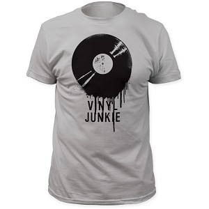 "Impact Originals ""Vinyl Junkie"" - Fitted Jersey Tee"