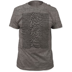 "Joy Division ""Unknown Pleasures"" - Fitted Jersey Tee"