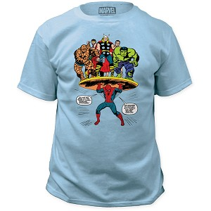 "Marvel ""Feats of Strength"" Tee"