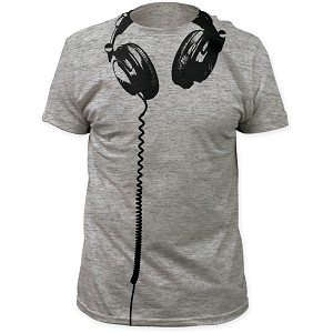 Impact Originals headphones big print subway tee