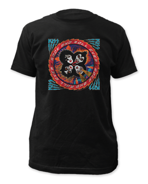 "KISS ""Distressed Rock And Roll"" Tee"