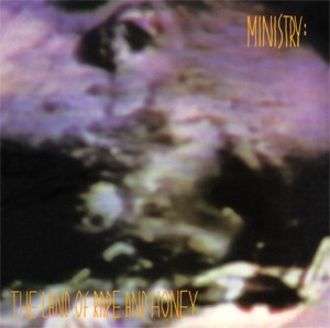 Ministry - The Land of Rape and Honey (150 Gram Opaque Violet or 200 Gram Black)