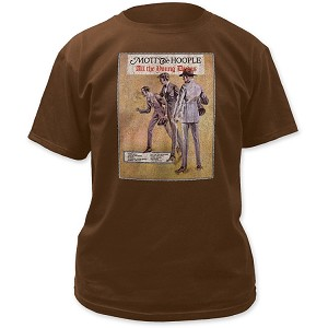Mott the Hoople All the Young Dudes Print Men's Classic Cotton Shirt