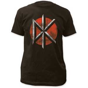 Dead Kennedys Distressed Logo - Fitted Jersey Tee