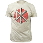 Dead Kennedys Distressed Logo - Fitted Vintage Tee