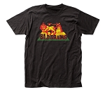 Bad Brains Rasta Lion fitted jersey tee