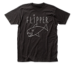 Flipper Logo fitted jersey tee