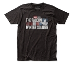The Falcon and the Winter Soldier fitted jersey tee