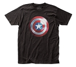 The Falcon and the Winter Soldier Cap Logo fitted jersey tee