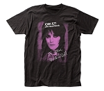 Joan Jett I Love Rock-n-Roll fitted jersey tee