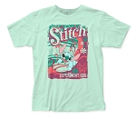 Lilo & Stitch Surfer Stitch fitted jersey tee