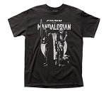 The Mandalorian Back to Back adult tee