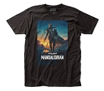 The Mandalorian Mando S2 Poster fitted jersey tee